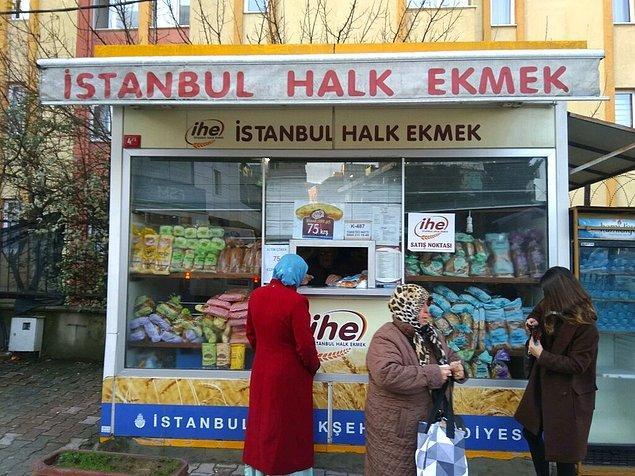 3. Geçtiğimiz yıl İstanbul Büyükşehir Belediyesi'nin (İBB), Halk Ekmek büfelerinin sayısını arttırma girişimi İBB Meclisi'nde AKP ve MHP grupları tarafından kabul edilmedi.