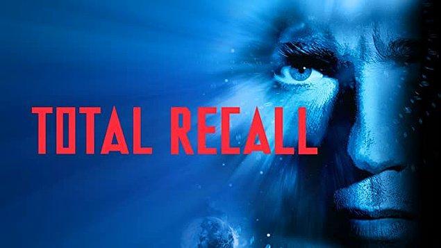 10. Total Recall (1990) - IMDb: 7.5