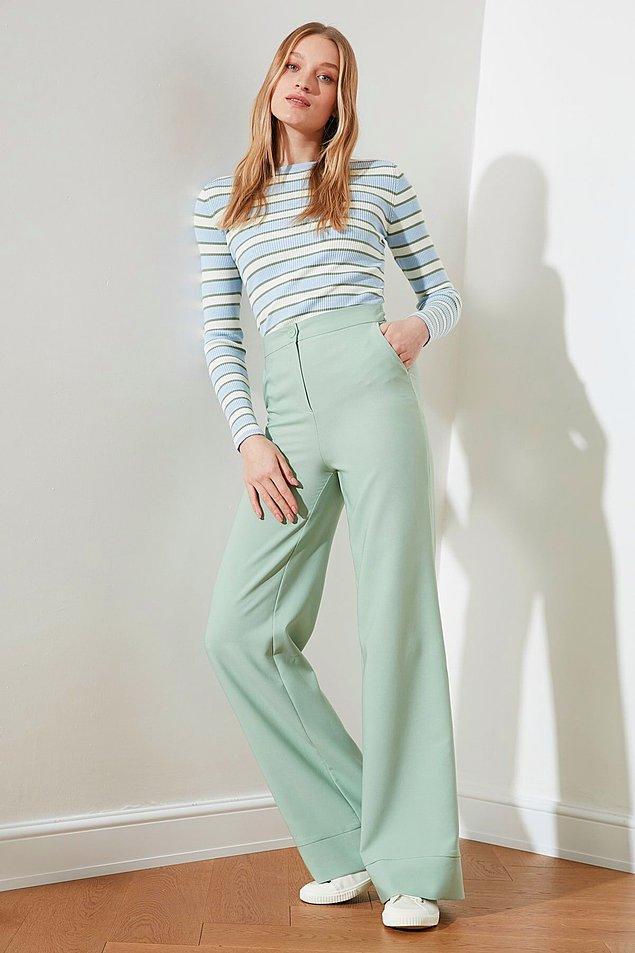 8. Yüksek bel pantolonlar tercih edin!