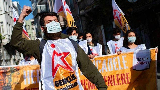 """""""Yılların İşçi Bayramı'na pandemi bahanesiyle izin yok"""""""