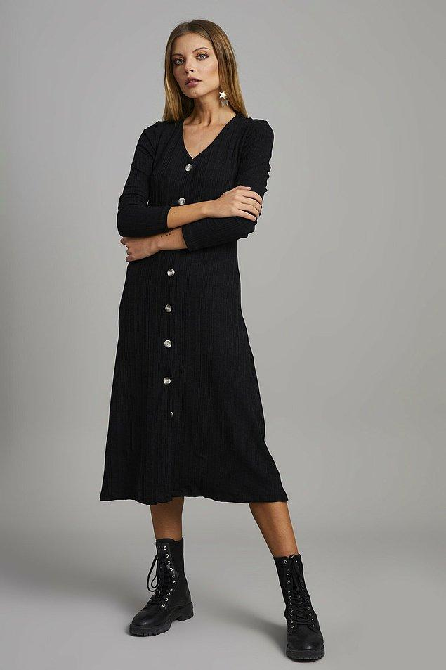 15. Tek parça elbiseler tercih ederek bacaklarınızı daha uzun gösterin...