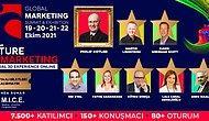 Pazarlama ve İş Dünyasının Yıldızlarını Bir Araya Getiren Global Marketing Summit 2021 Zirvesi Başlıyor!
