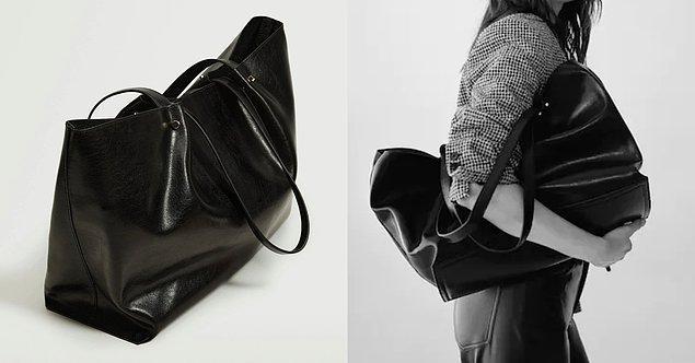 2. Mango markasına ait çanta modelleri, gözünüz kapalı tercih edebileceğiniz seçenekler arasında yer alıyor.