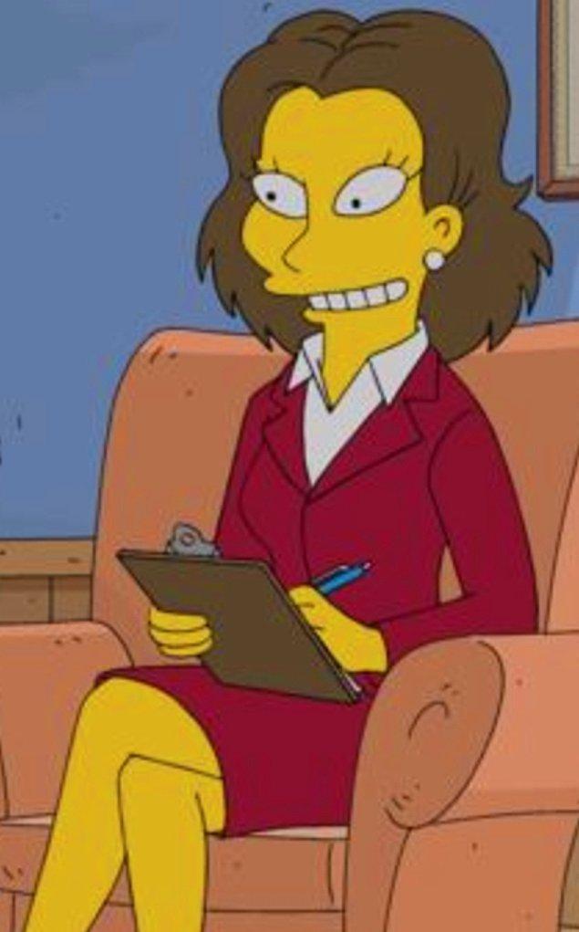 Kendisinin aynı zamanda 'The Simpsons' dizisinde 22.sezon konuk oyuncu olduğunu biliyor muydunuz?
