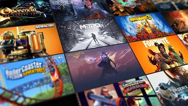 Epic Games Store online oyun satış platformları arasına hızlı bir giriş yaptı.