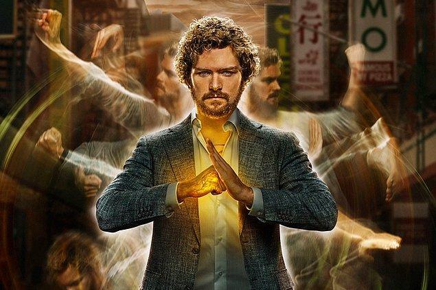 15. Iron Fist (2017-2018) - IMDb: 6.4