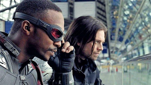 9. The Falcon and The Winter Soldier (2021) - IMDb: 7.3