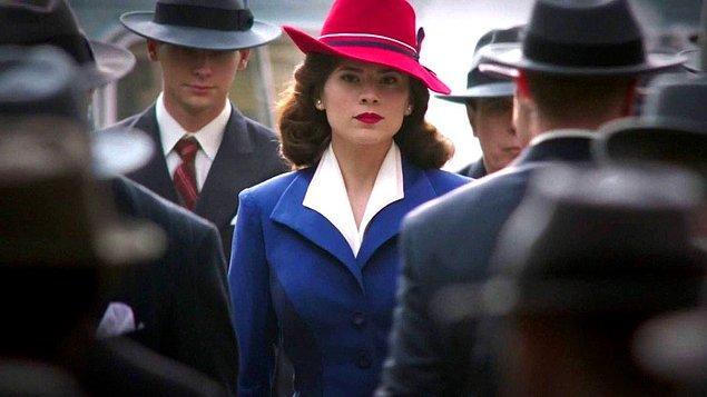 7. Agent Carter (2015-2016) - IMDb: 7.9