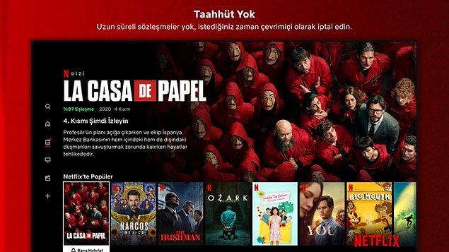 3. Netflix 55 TL