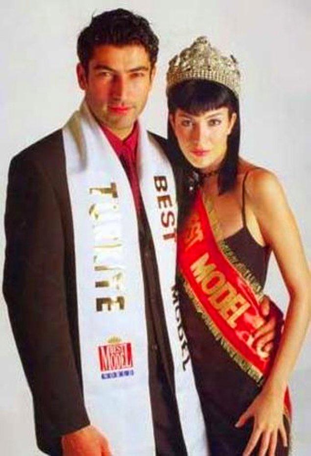 Elbette bu karizmatik duruşun bir yarışma geçmişi olmazsa olmaz! Kenan İmirzalıoğlu, 1997 yılında yani ünlü olmadan önceki yıllarda Best Model of Turkey'in elemelerine katıldı.