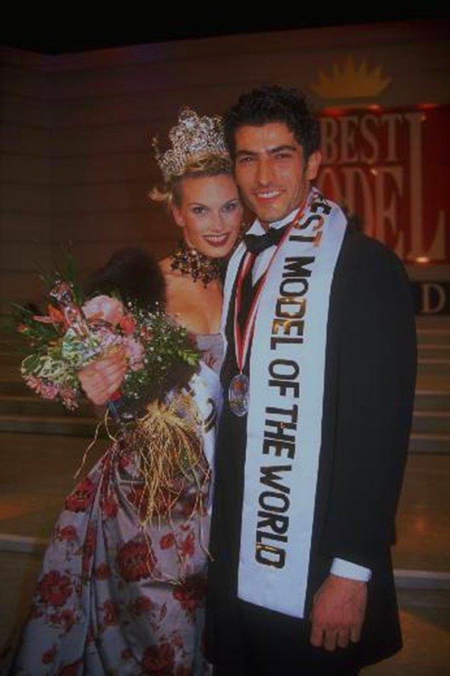 Kenan İmirzalıoğlu, Türkiye'de yapılan yarışmada birinci olduğu için Best Model of The World'e katılmaya hak kazandı.