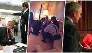 11 Eylül Saldırılarını Bir de Dönemin Başkanı George Bush ve Ekibi Tarafından Görmenizi Sağlayacak 26 Fotoğraf