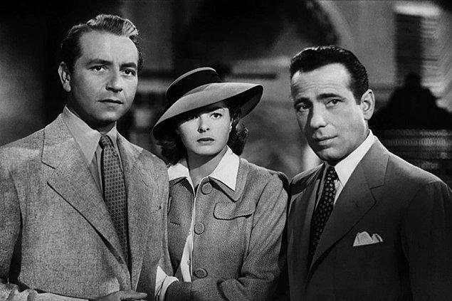 2. Casablanca (1942) IMDb: 8.5