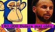 Yatırımını NFT'den Yana Kullandı! NBA İkonu Stephen Curry, Bored Ape NFT'yi 180.000 Dolara Satın Aldı