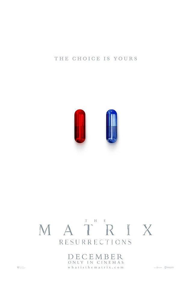7. The Matrix'ten ilk resmi poster yayınlandı.