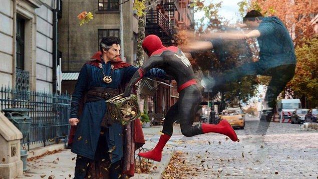15. 'Spider Man: No Way Home'un süresi 2 saat 37 dakika olarak açıklandı.