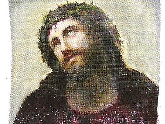 """""""Ecce Homo"""", seksen yıldır kilisenin duvarında yer alan, klasikleşmiş bir eserdi."""