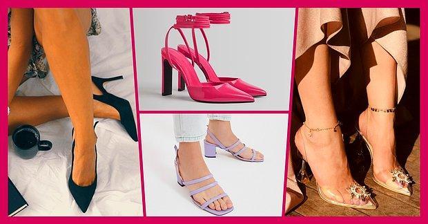 Sezon Sonu İndiriminden Satın Alabileceğiniz 12 Topuklu Ayakkabı Modeli