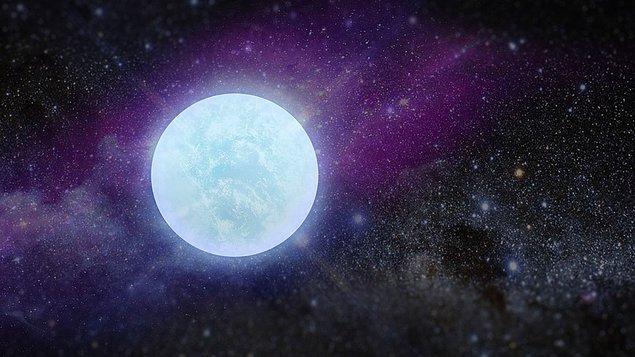 Kütlesi Güneş'inkinin yaklaşık sekiz katı olan düşük kütleli yıldızların ömürlerinin son aşamasına beyaz cüce deniyor.
