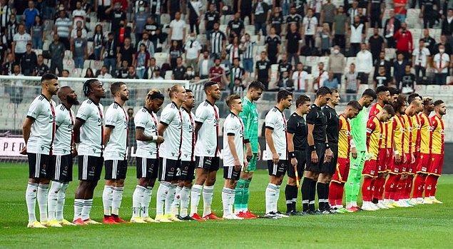 Beşiktaş , Süper Lig 'in 4. haftasında Yeni Malatyaspor konuk etti.