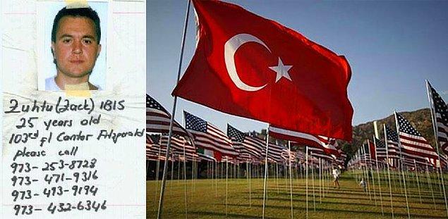 11 Eylül 2001 tarihinde Zühtü İbiş'in ikiz kulelerde çalıştığı ofisine uçak çarpmıştı.