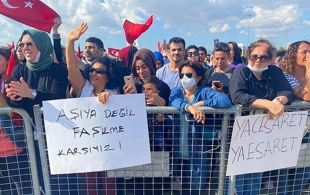 İstanbul'un Maltepe ilçesinde 'Büyük Uyanış Mitingi' ismi verilen buluşma geçtiğimiz 11 Eylül Cumartesi günü gerçekleşti.