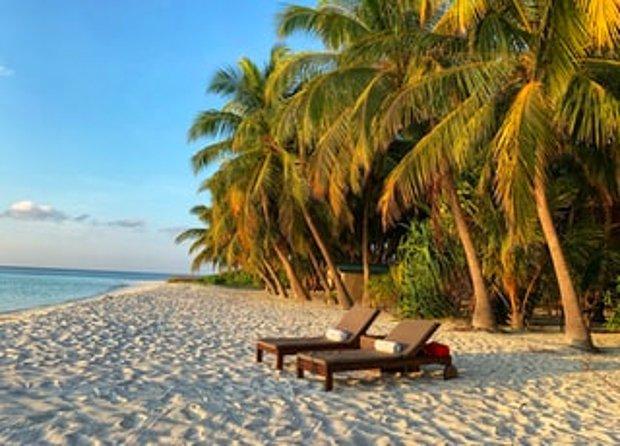 Romantik, tenha ve cennet gibi bir ada tatili