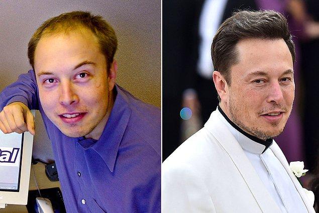 1. Tesla'nın kurucusu ünlü iş insanı Elon Musk'ın saç ektirme işlemine 20 bin dolar harcadığı tahmin ediliyor.