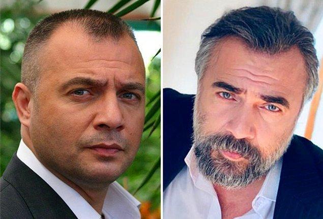9. Başarılı oyuncu Oktay Kaynarca da saç ektirdiği fark edilen isimlerden birisi.