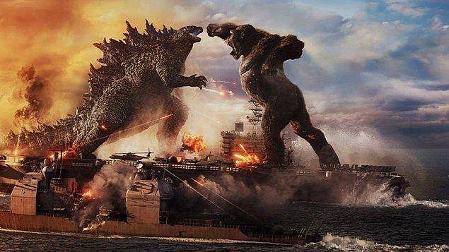 1. Godzilla, 2014 yılında yapılan filmde sadece 8 dakika ekranda görülmüştür.