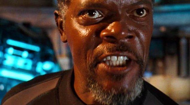 1. Samuel L. Jackson / Mavi Korku (1999)