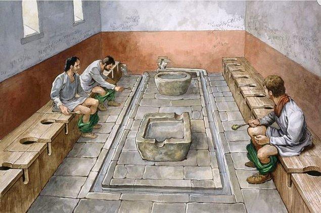 Ücretli umumi tuvaletlerin tarihi Antik Roma'ya kadar gidiyor.