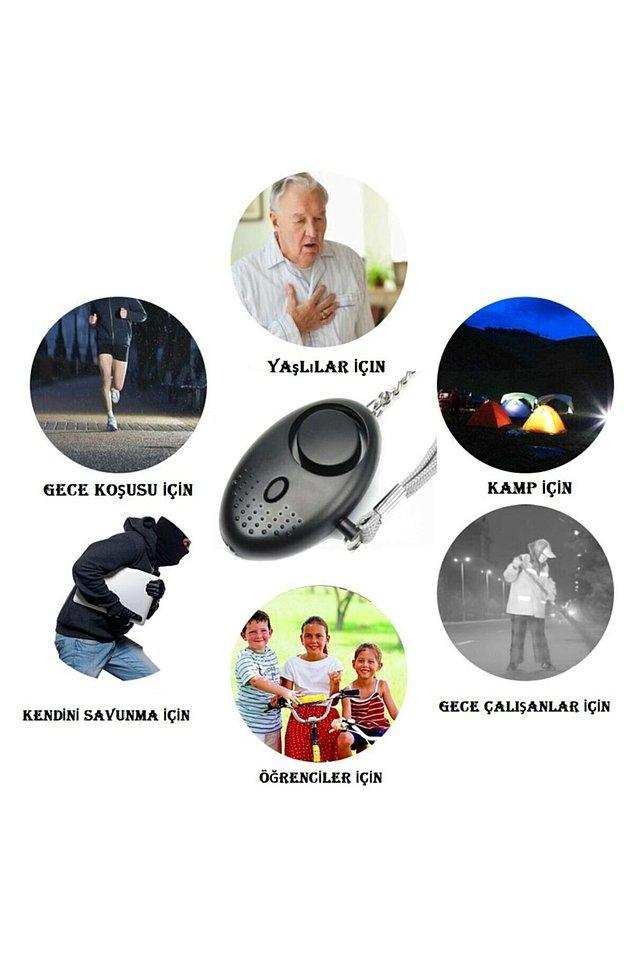 2. Panik butonları sadece saldırı anında değil çocuk ve yaşlıların acil durumlarda kullanması için etkili bir alet.