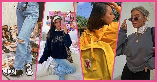 Sweatshirt Aşıkları Buraya! Sadece Sweatshirt ve Jean İle Tarz Olmanıza Yardımcı Olacak Trend Parçalar