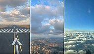 Uçağın Ön Kısmına Yerleştirilen Kameradan Pilotun Uçuş Sırasında Gördüğü Manzara