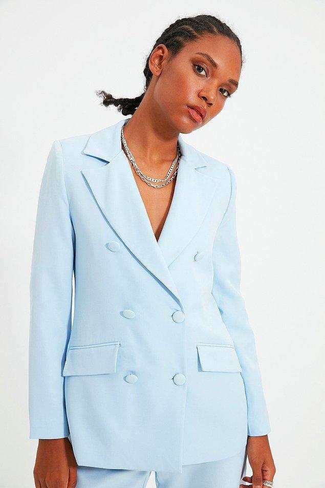 15. Blazer ceket aşkına!