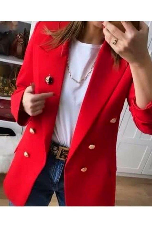 17. Bu renkli ceketler tam jean ile kombinlemelik...