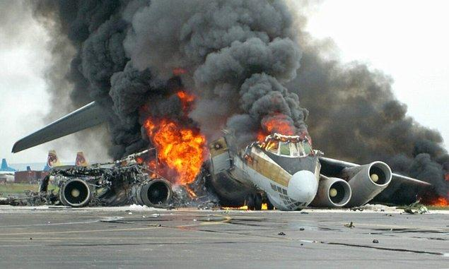 10. Amerika'da meydana gelen en ölümcül kaza ikinci kaza 11 Eylül saldırılarından 62 gün sonra yaşanmıştır.