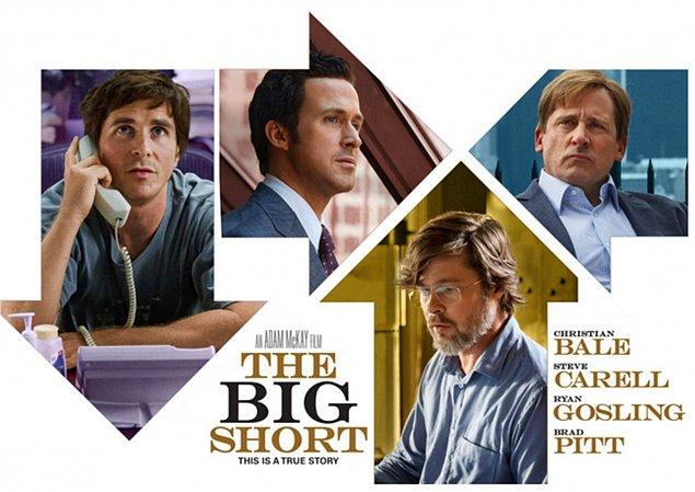 5. The Big Short (Büyük Açık) IMDb 7.8