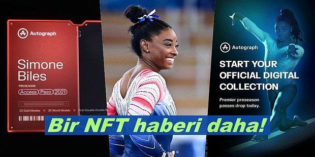 Sayılı Sporculardan Olacak! Dünyaca Ünlü Olimpik Jimnastikçi Simone Biles NFT Koleksiyonunu Duyurdu