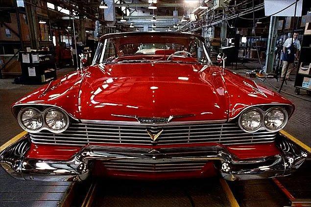 4. 1958 Plymouth Fury model araba hangi filmden?