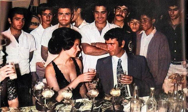 19. Fatma Girik ve Yılmaz Güney, Adana, 1971.
