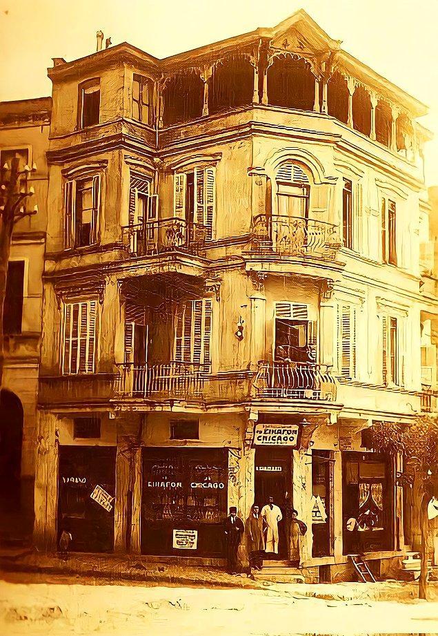 22. Chicago bakkaliyesi, İstanbul, 1908.