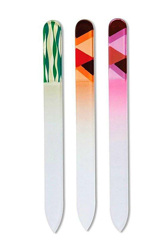 4. Tırnakları kısa tutmak etkili bir yöntem, bunun için cam törpü öneririz...