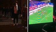 Trabzonspor - Galatasaray Derbisi Düğüne Denk Gelince Hem Horon Oynayıp Hem de Maçı Takip Eden Adam