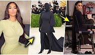 Met Gala'ya Harry Potter'daki Ruh Emiciler Gibi Katılan Kim Kardashian'ın Hazırlık Süreci Herkesi Şaşırttı