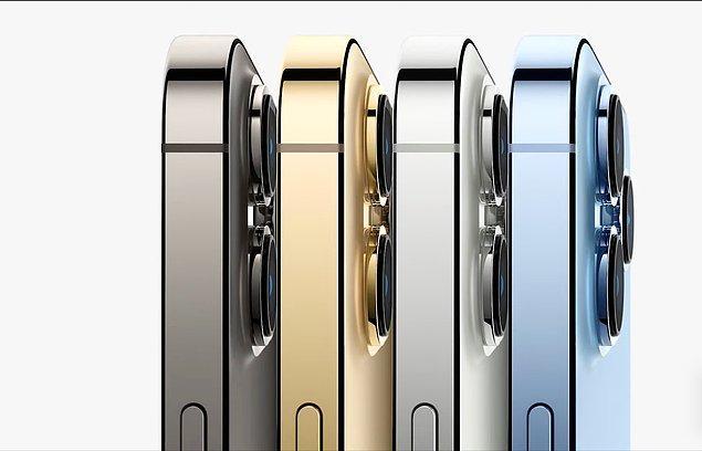 iPhone Pro, 4 farklı renkte satışa sunuluyor. A15 işlemciye sahip olan iPhone 13 Pro, oldukça uzun bir pil ömrüne sahip.