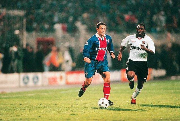 13. 1 Ekim 1997 / Beşiktaş 3:1 Paris Saint-Germain