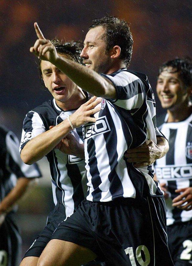 10. 1 Ekim 2003 / Chelsea 0:2 Beşiktaş