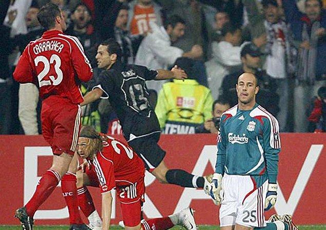 8. 24 Ekim 2007 / Beşiktaş 2:1 Liverpool